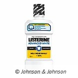 LISTERINE® Advanced White Milder Geschmack.